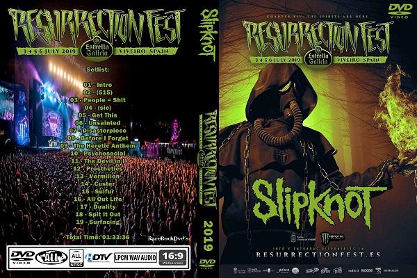 Slipknot – Resurrection Fest 2019 DVD
