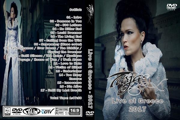 Tarja Turunen – Live at Greece 2017 DVD