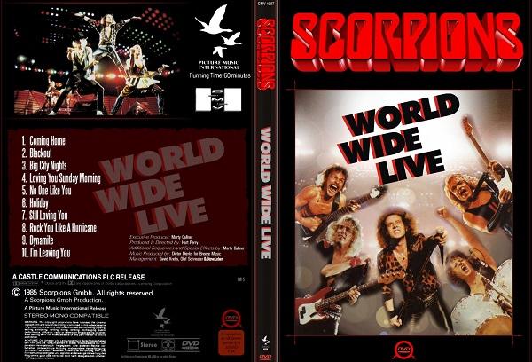 Scorpions – World Wide Live DVD