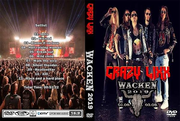 Crazy Lixx – Live Wacken 2019 DVD