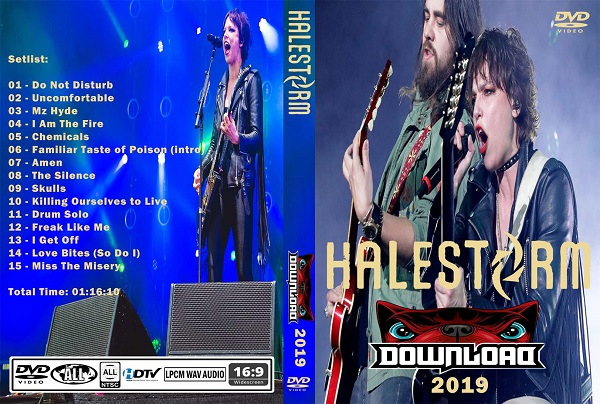 Halestorm – Live Download 2019 DVD