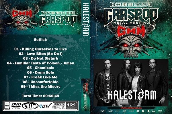 Halestorm – Live Graspop 2019 DVD
