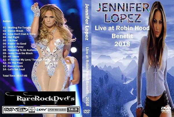 Jennifer Lopez – Live Robin Hood Benefit 2018 DVD