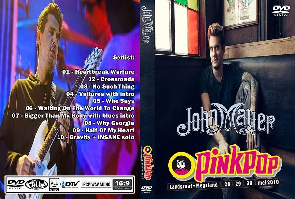 John Mayer – Live at Pinkpop 2010 DVD