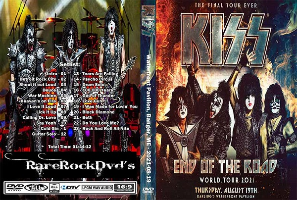 Kiss – Live Bangor 2019 DVD