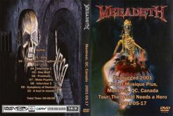 Megadeth - Unplugged Canada 2001 DVD